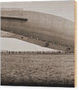 Roma Dirigible At Bolling Field Air Wood Print