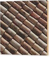 Rooftop In Dubrovnik Old Town Wood Print