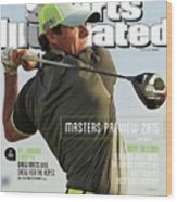 Rorys Moment 2014 British Open Sports Illustrated Cover Wood Print