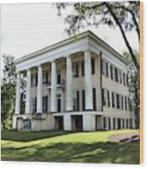 Rose Hill Mansion - Milledgeville, Georgia 4 Wood Print