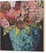Roses For Nancy Wood Print
