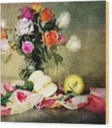 Rosy Pallet Wood Print