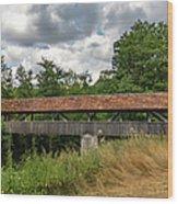 Rothenburg Covered Bridge Wood Print