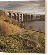 Royal Border Bridge, Berwick-upon-tweed Wood Print