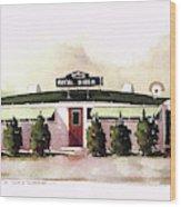 Royal Diner Wood Print