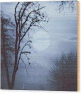 Sacred Blood Wood Print