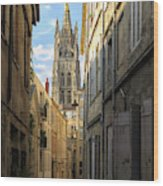 Saint Andre Cathedral Wood Print