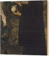 Saint Benedict  Wood Print