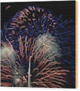 Saint Louis Missouri 4th July 2018 Wood Print