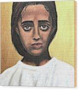 Saint Maria Goretti Wood Print