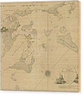 Salem, Marblehead, Beverly, Manchester Wood Print