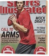 Sam Bradford, 2010 Nfl Football Draft Preview Sports Illustrated Cover Wood Print