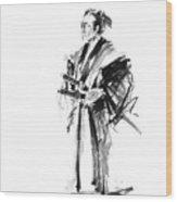 Samurai Poster Bushido Japanese Art Samurai Warrior Japanese Sword Wood Print