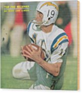 San Diego Chargers Lance Alworth... Sports Illustrated Cover Wood Print