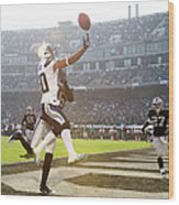 San Diego Chargers V Oakland Raiders Wood Print