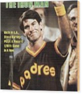 San Diego Padres Steve Garvey Sports Illustrated Cover Wood Print