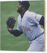 San Diego Padres V Chicago Cubs Wood Print