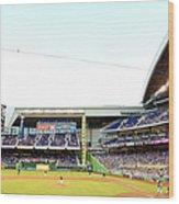 San Diego Padres V Miami Marlins Wood Print