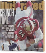 San Francisco 49ers Brent Jones, 1998 Nfc Divisional Sports Illustrated Cover Wood Print