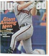 San Francisco Giants Matt Williams... Sports Illustrated Cover Wood Print