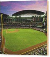 San Francisco Giants V Arizona Wood Print