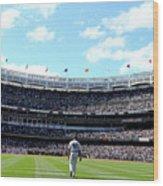 San Francisco Giants V New York Yankees Wood Print