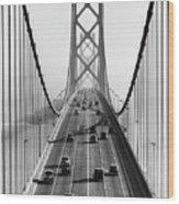 San Francisco-oakland Bay Bridge Wood Print