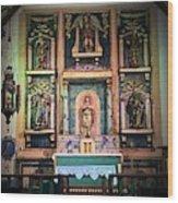 San Gabriel Mission No. 2, High Altar Wood Print