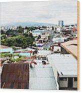 San Jose Costa Rica Wood Print