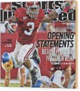 San Jose State V Alabama Sports Illustrated Cover Wood Print