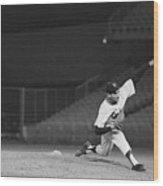 Sandy Koufax Throwing A Pitch Wood Print