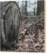 Sap Runs Cold Wood Print