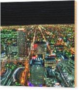 Sapporo Wood Print