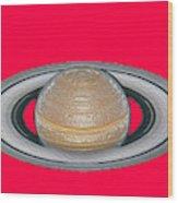 Saturnian Image 2 Wood Print