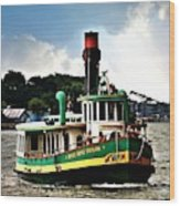 Savannah Belles Ferry Wood Print