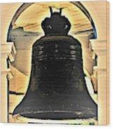 Savannah Exchange Bell Wood Print