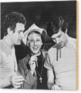 Scene From M*a*s*h Wood Print