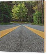 Scenic Drive 2 Wood Print