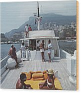 Scottis Yacht Wood Print