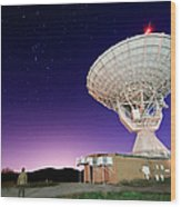 Search For Extraterrestials Wood Print