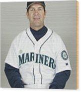 Seattle Mariners Headshots Wood Print