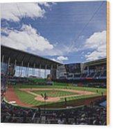 Seattle Mariners V Miami Marlins Wood Print