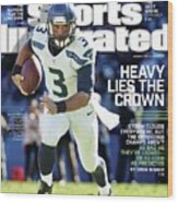 Seattle Seahawks Heavy Lies The Crown Sports Illustrated Cover Wood Print