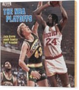 Seattle Supersonics Jack Sikma, 1982 Nba Western Conference Sports Illustrated Cover Wood Print