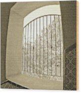 Sedona Series - Through The Window Wood Print