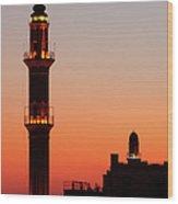 Sehidiye Mosque Minaret Wood Print