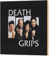 Seinfeldblackflag Wood Print