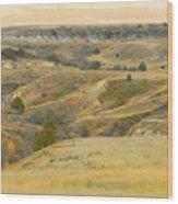 September Ridgeline Reverie Wood Print