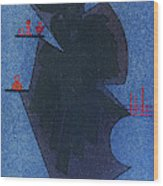 Shadow, 1931 Wood Print