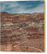Shafer Trail. #2 Wood Print